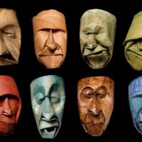 Junior Fritz Jacquet's toilet-paper roll faces