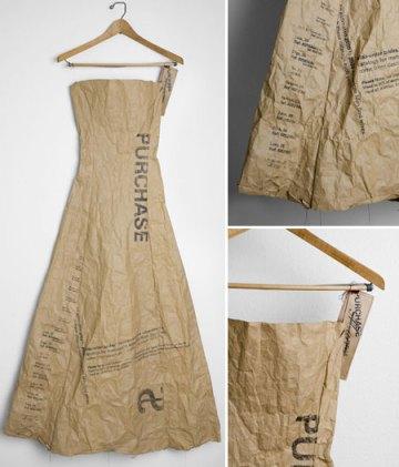 Paper dress by Scott Paper Company, 1966