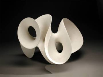 Eva Hild ceramic sculptures