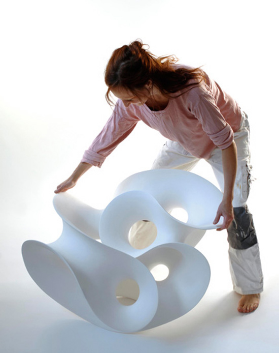 Eva Hild ceramic sculptures