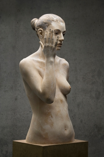 bruno walpoth wooden sculpture