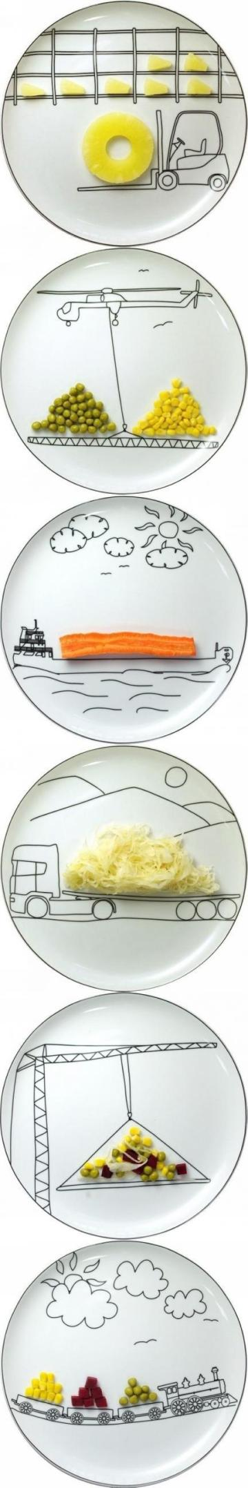 fun plates