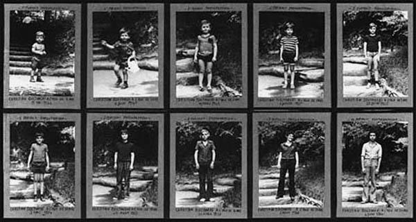 Dix portraits Boltanski