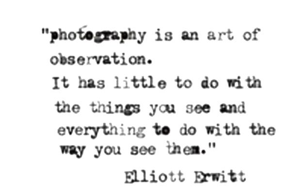 Elliott Erwitt quote
