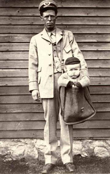 Child via parcel post