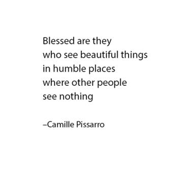 Pissarro quote