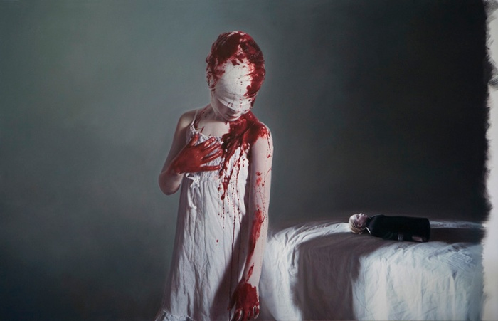 Gottfried-Helnwein The disasters of war