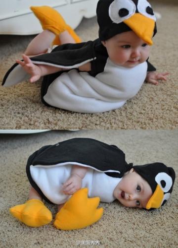 Little penguin costume for halloween