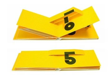 Marion Bataille Numero Pop-up book