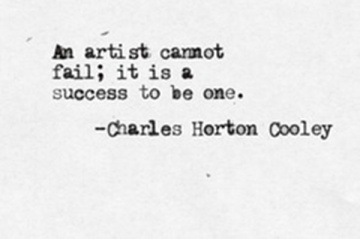 Charles Horton Cooley Art quote