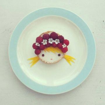 Sandra van der Broek edible art 1