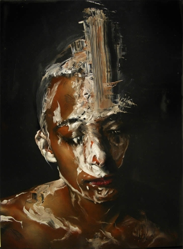 Dario Puggioni painting