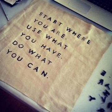 Arthur Ashe Quote Start where you are