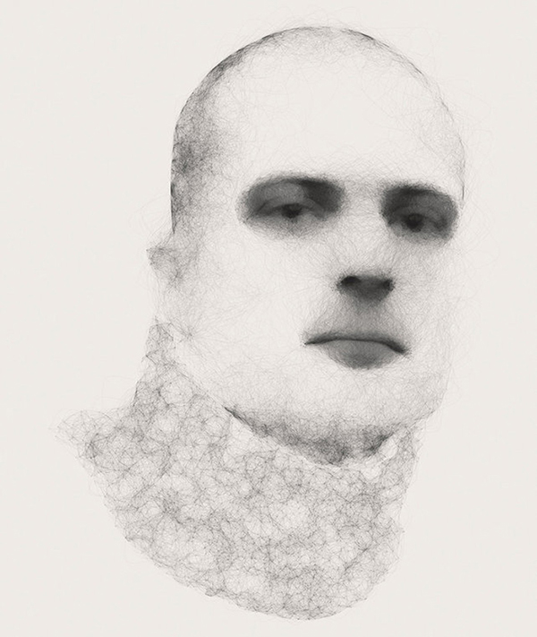 Diana Lange's generative portraits